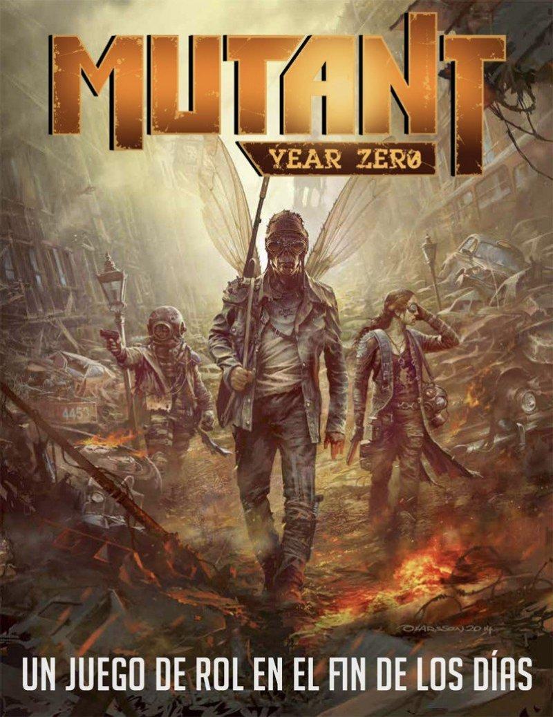 Mutant Year Zero Libro en Español