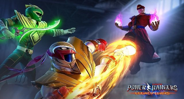 Power Rangers Vs Street Fighter