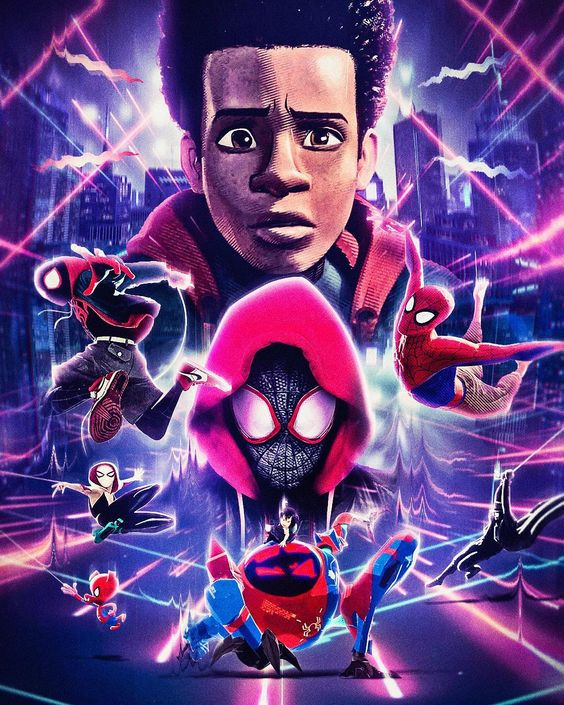 Spider-Man Into the Spider-Verse Personajes