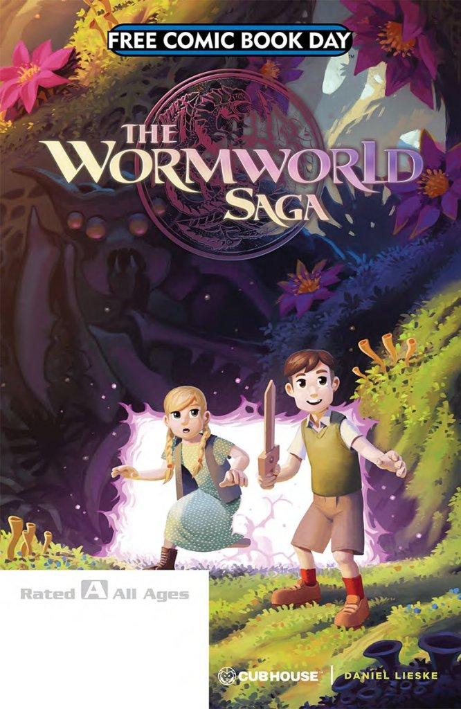 The Wormworld Saga Free Comic Book Day 2018