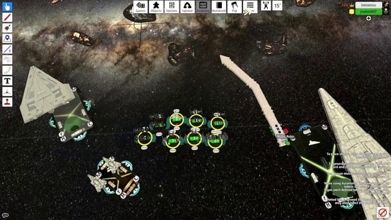 Tabletop Simulator Star Wars Armada