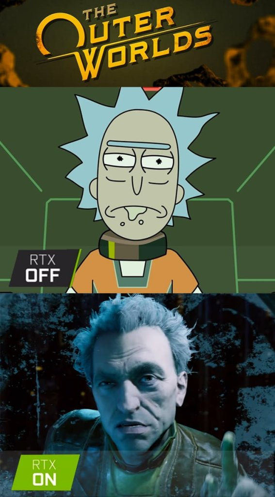 The Outer Worlds Rick