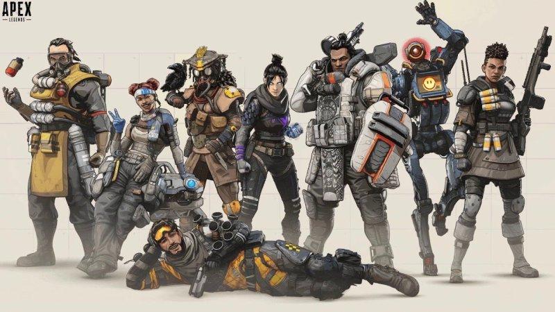 Apex Legends Personajes