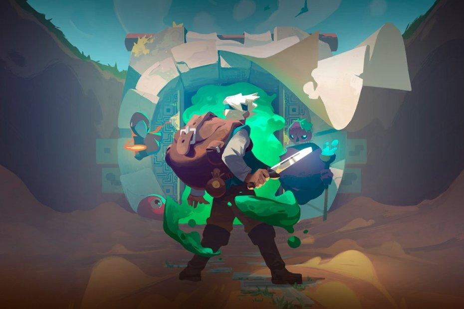 Moonlighter Gameplay en Español Portada