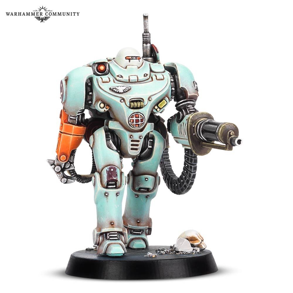 Blackstone Fortress Imperial Robot