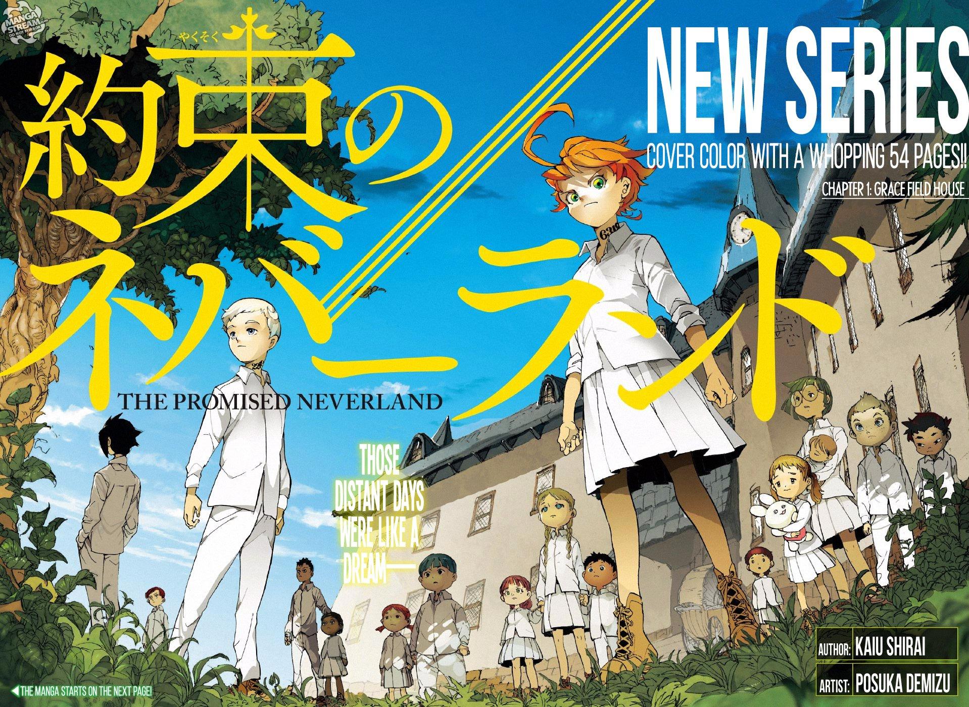 The Promised Neverland – Manga
