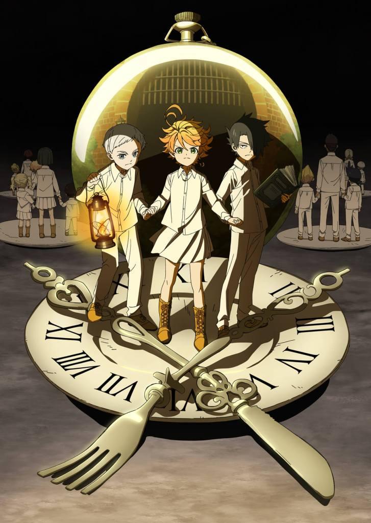 O Neverland prometido - relógio
