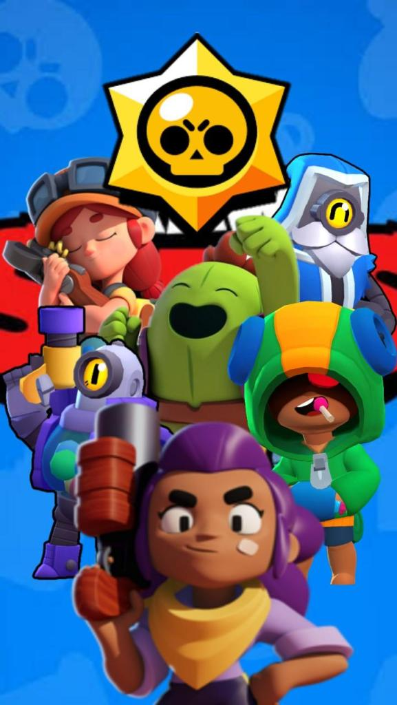 Brawl Stars Wallpaper Vertical