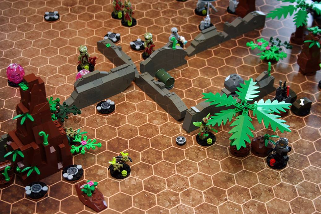 Fireteam Tactics – Sci-Fi Brick Combat