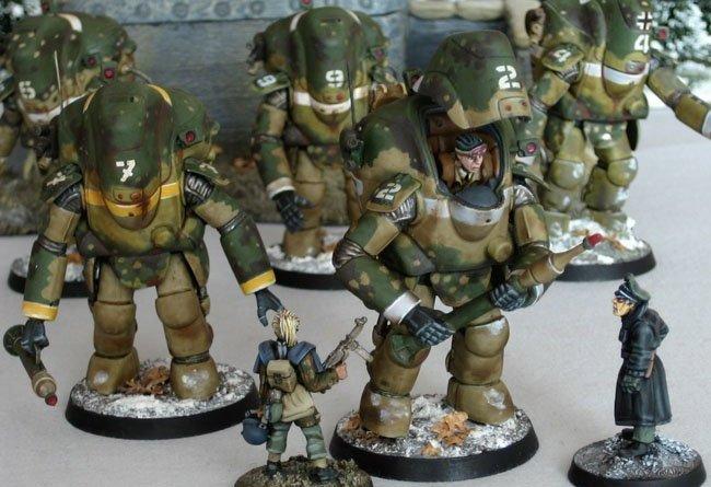 Maschinen Krieger Miniaturas