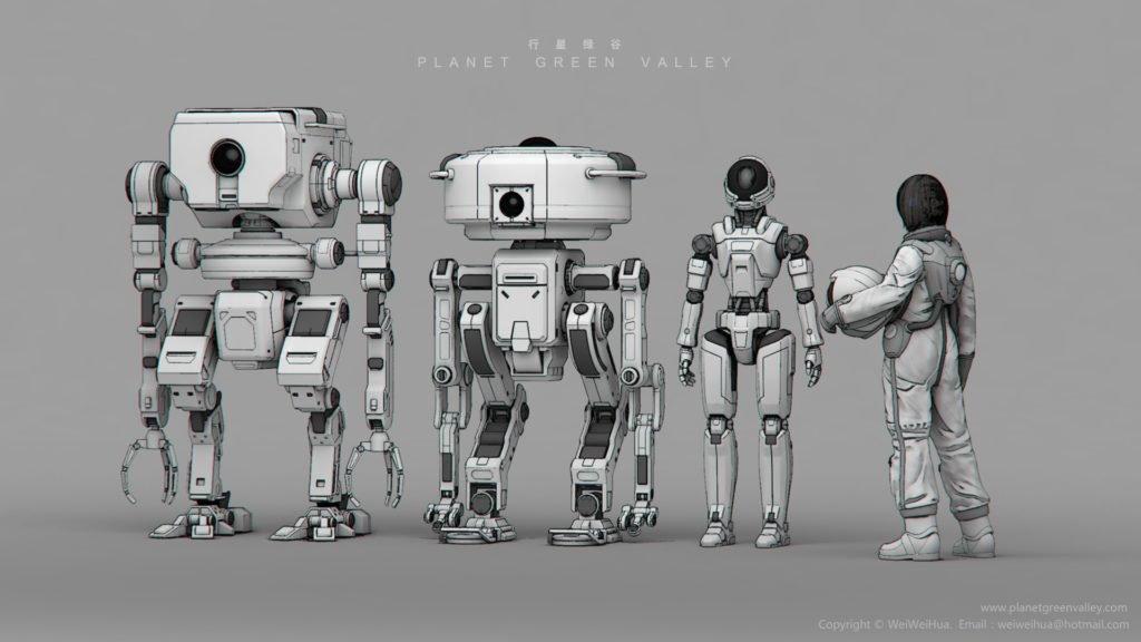 Planet-Green-Valley-Robots