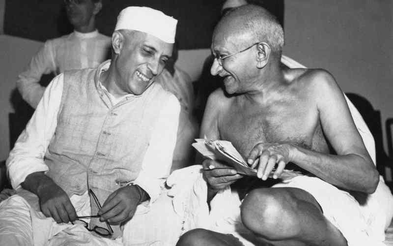 Nehru e Ghandi