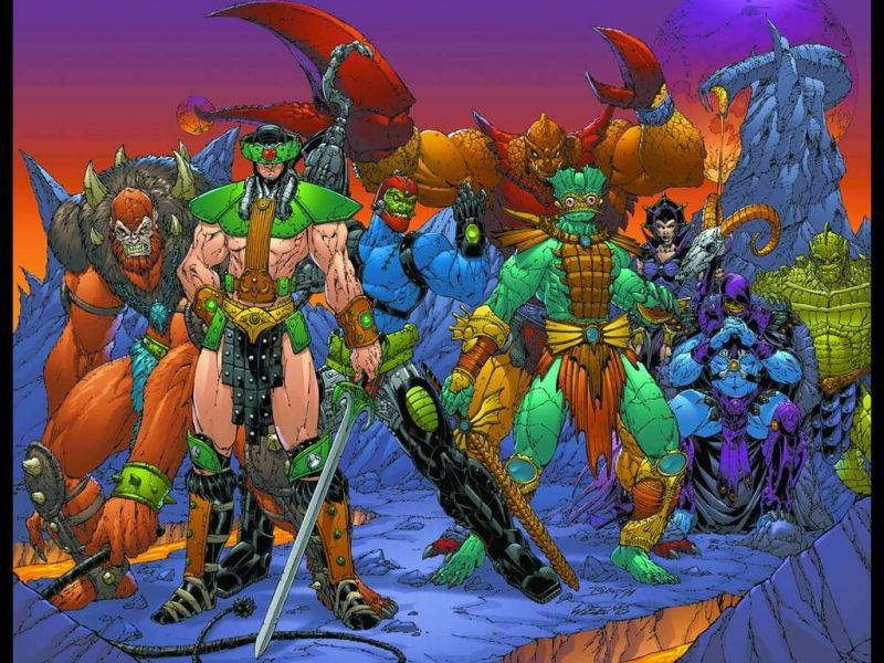 Villains of The Masters of the Universe