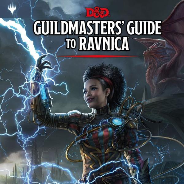 Guildmasters' guide to ravnica Portada