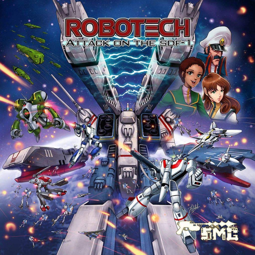 Robotech Attack On The SDF-1 Portada
