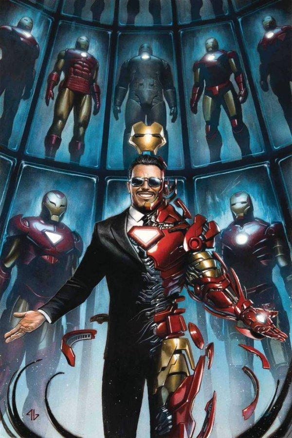 Tony Sark Iron Man 1