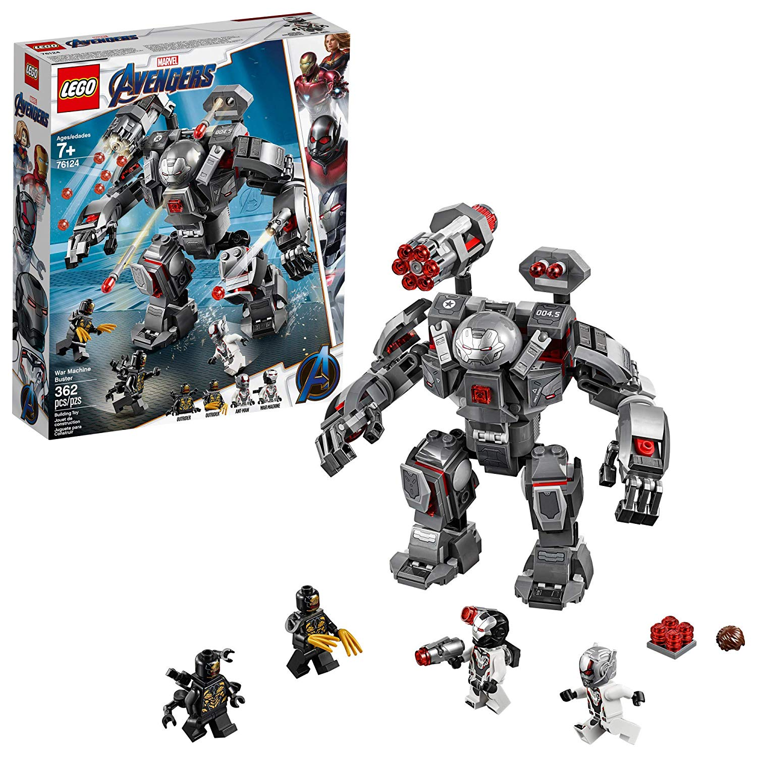 War Machine Buster de LEGO