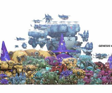 Genesis Wars de Alex Konstad
