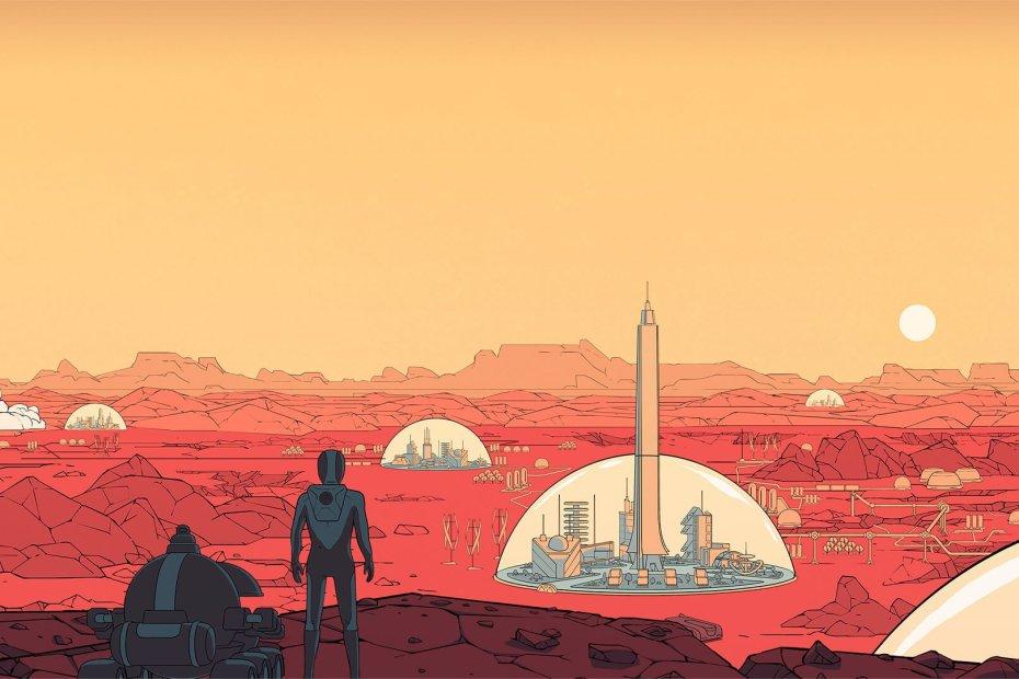 Surviving Mars Concepto