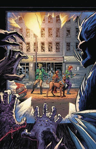 Scooby Apocalypse Callejón