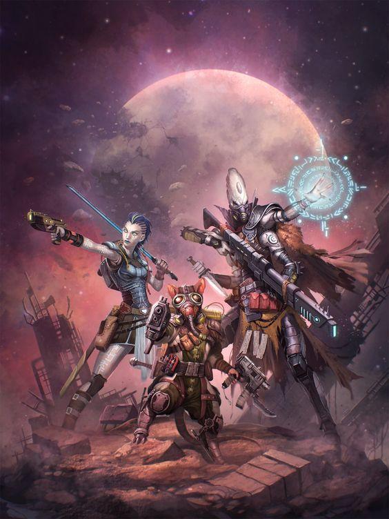Starfinder Trio