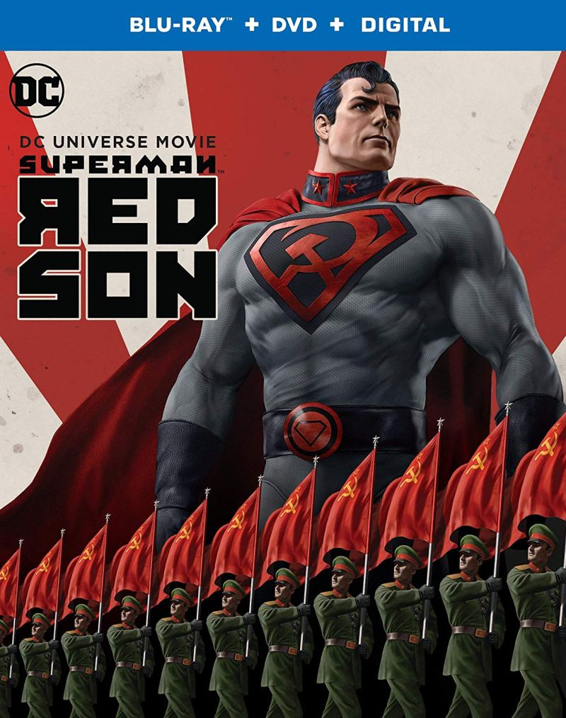 Superman Red Son Blu Ray