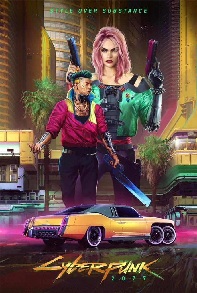 Cyberpunk 2077 Afiche