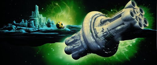Portada de Pandora Star por Jim Burns