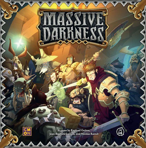 Massive Darkness Portada
