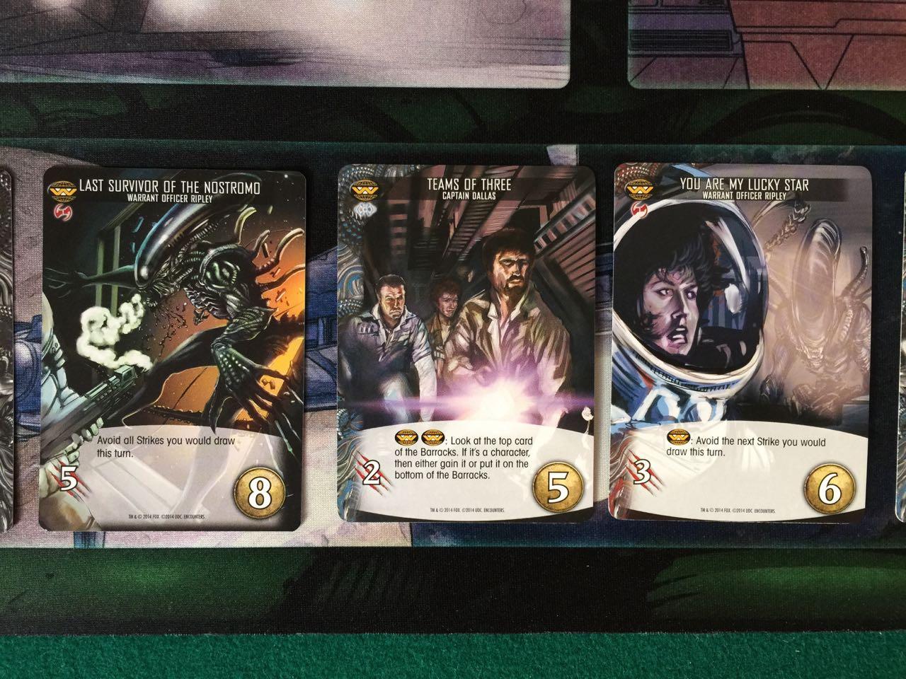 Alien Legendary Enounters Cartas