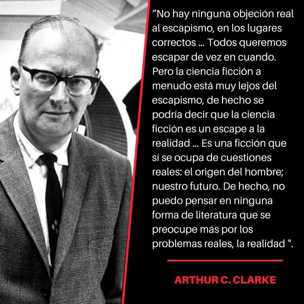 Arthur C Clarke Cita
