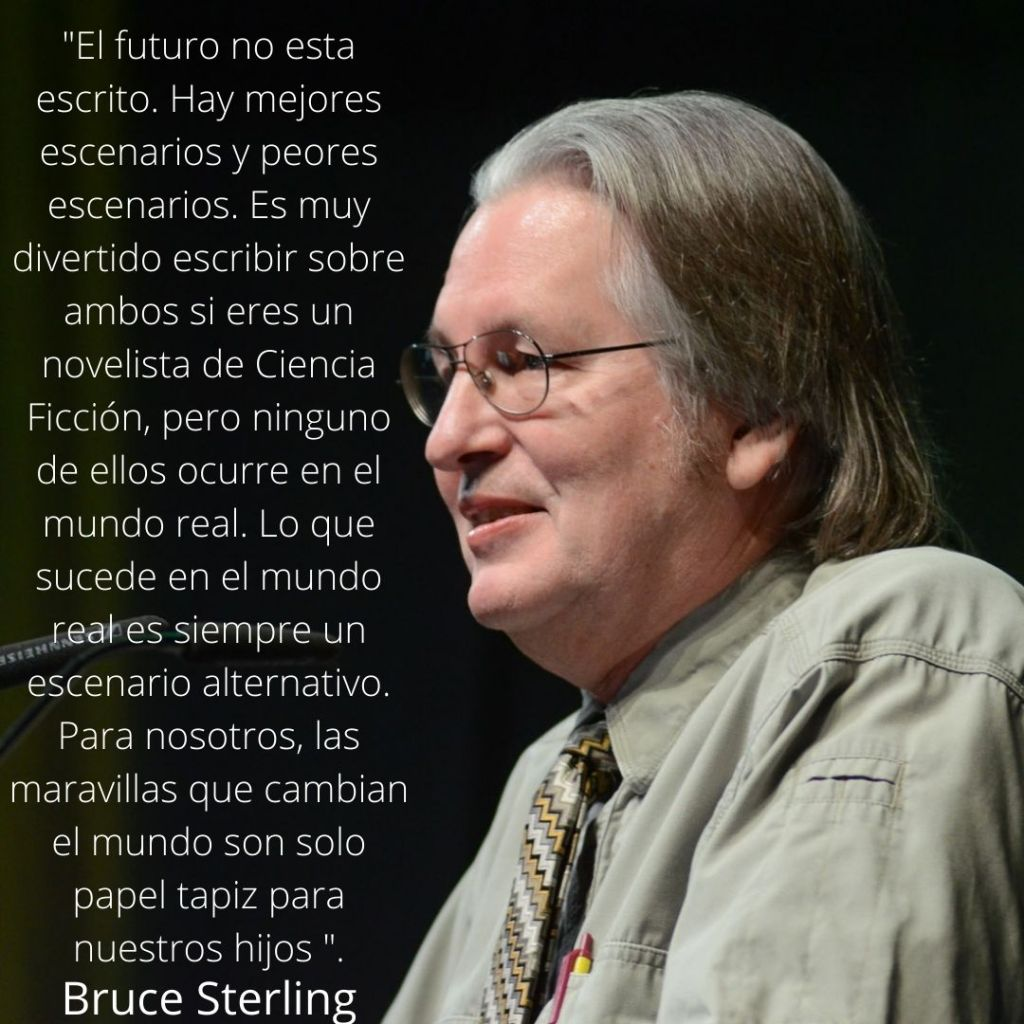 Bruce Sterling Cita
