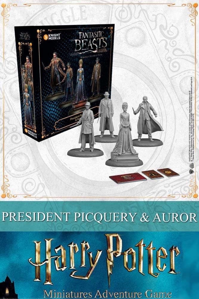 HARRY POTTER - Miniature Adventure Game - Picquery & Aurors