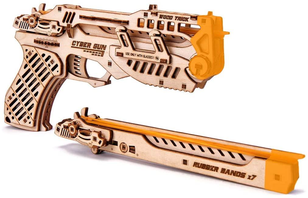 Cyber Gun 3D Puzzle