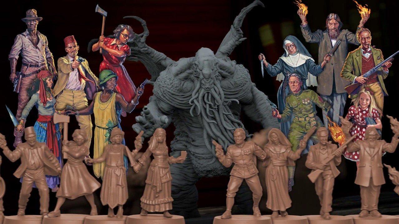 Cthulhu Death May Die Personajes y Miniaturas