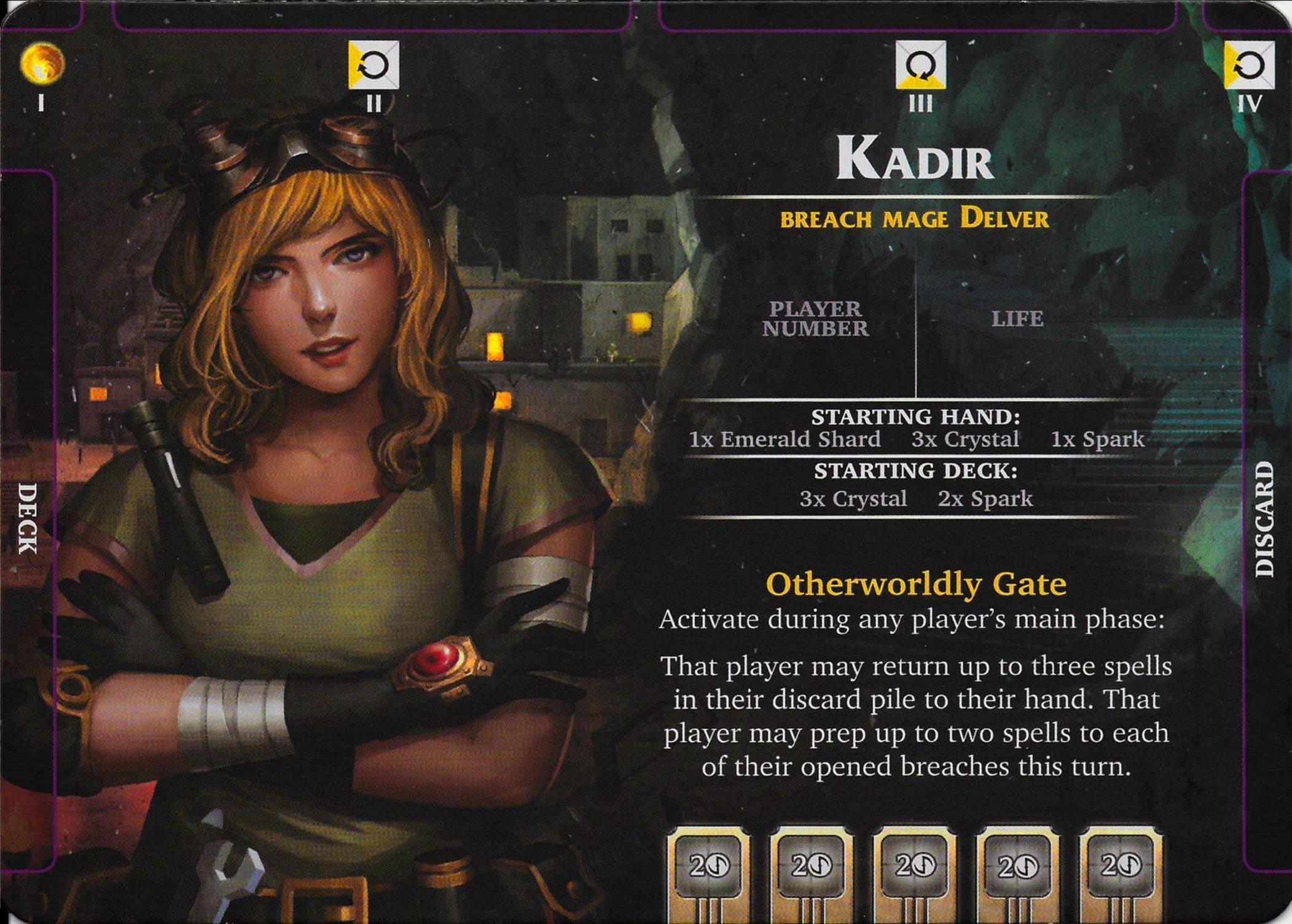 Aeon's End Kadir Héroe
