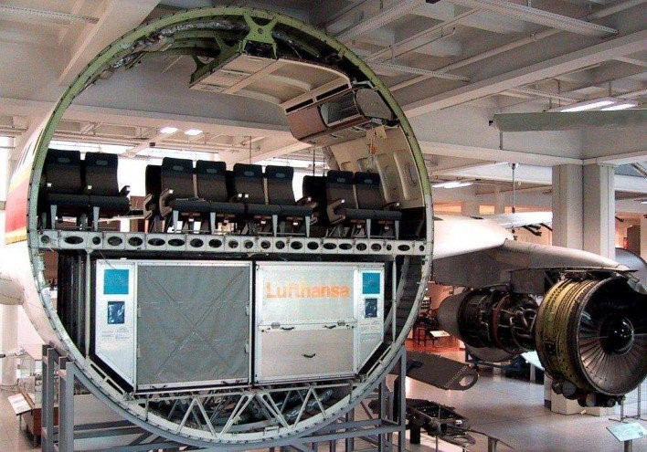 airline cross section
