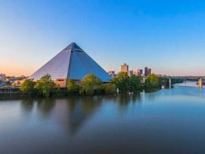 Pyramid Cityscape