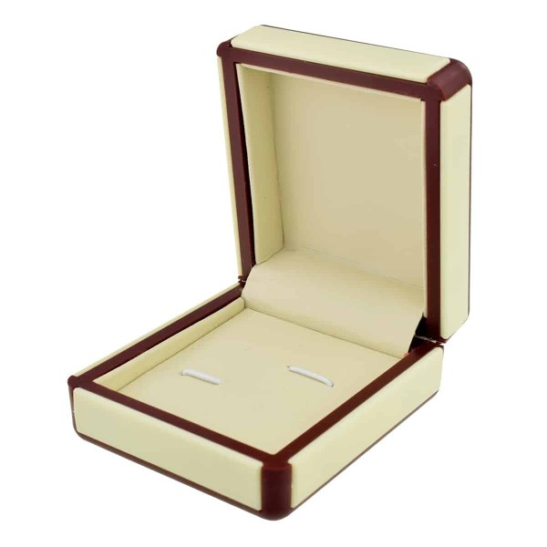 Deluxe leatherette cufflink box