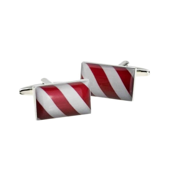Barber Pole Cufflinks