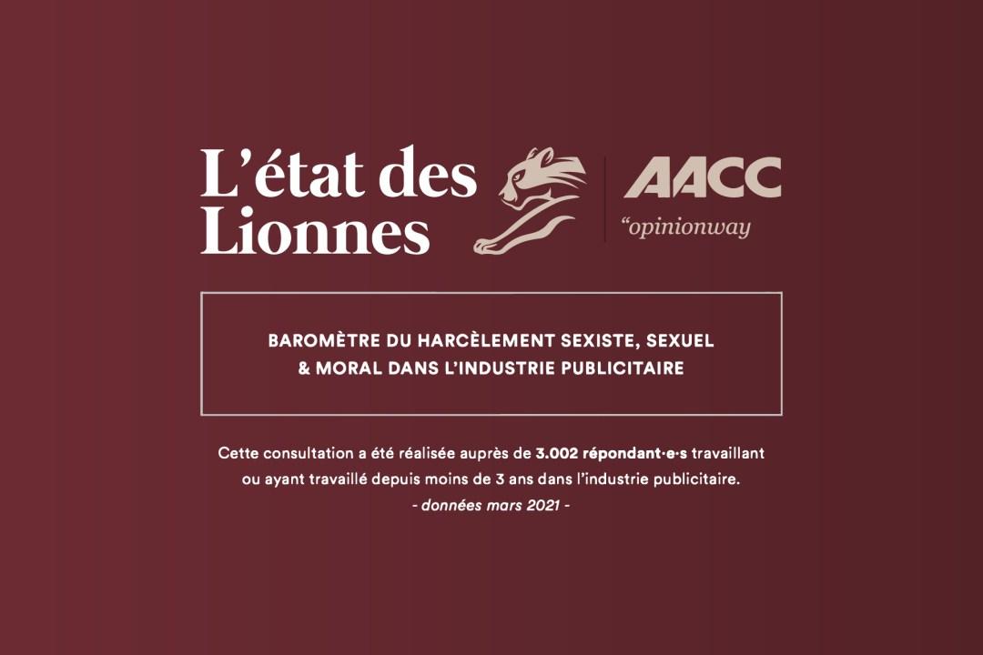 Enquête sur le harcèlement en agences de publicité, l'Etat des Lionnes