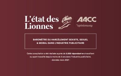 Enquête sur le harcèlement en agence de publicité, «L'État des Lionnes»