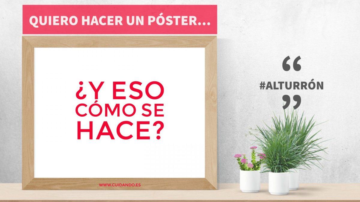 Quiero hacer un póster... ¿y eso cómo se hace?