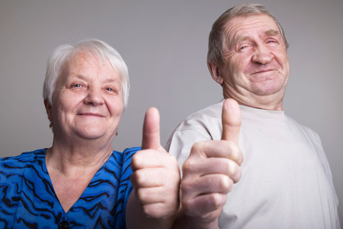 Older Man With Younger Woman