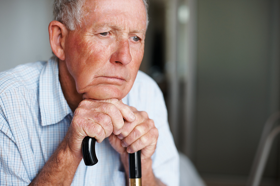 bigstock_Closeup_of_an_old_man_lost_in__20042198