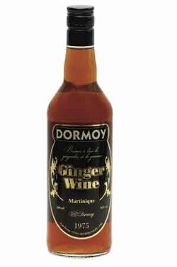 Vino de jengibre (ginger wine)
