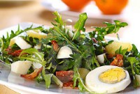 Ensalada con huevos