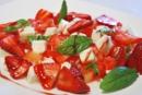 Frutas con menta