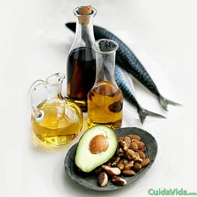 Las grasas insaturadas ayudan a mantener el corazón sano