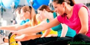 En el ejercicio hay que pensar también en los estiramientos